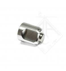 AAC BOLT END CAP SILVER POUR VSR10 / T10