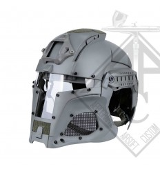 CASQUE MANDALORIEN IRON WOLF GREY