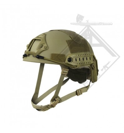 CASQUE FAST JUMP TAN S&T
