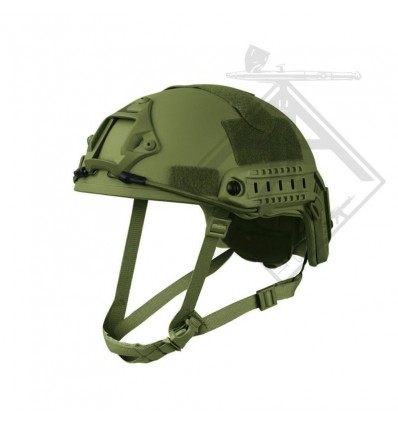 CASQUE FAST JUMP OLIVE S&T