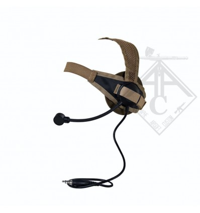 CASQUE AUDIO TASC1 Z TACTICAL TAN